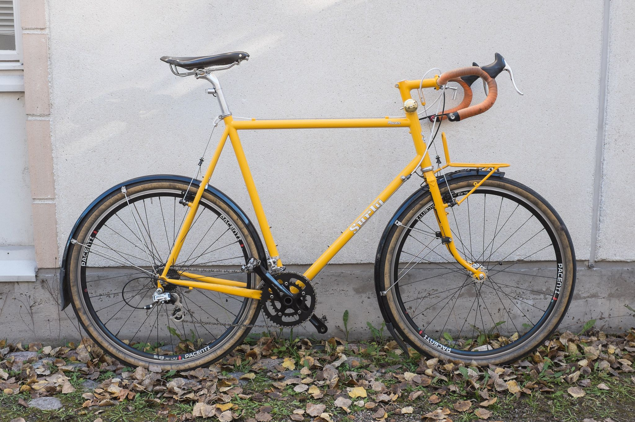 Surly Pacer 650b with Soma fork (cantilever studs retrofitted to ...