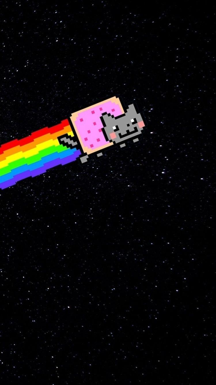 Nyan Cat Wallpaper Iphone Download Popular Nyan Cat Wallpaper