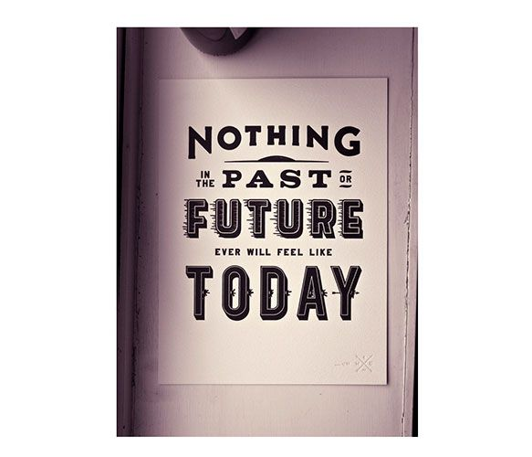 Nothing Past - Future Print