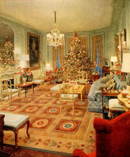 Home Pics: Gloria Vanderbilt's Home ~ Christmas 1969