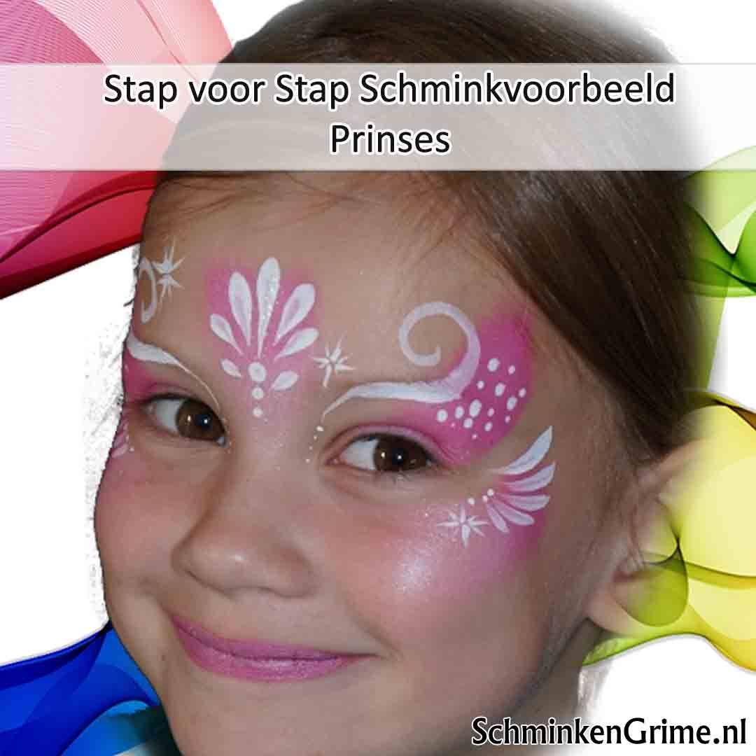 Fonkelnieuw Prinses Schminkvoorbeeld | Stap voor Stap Schmink Tutorial HU-13