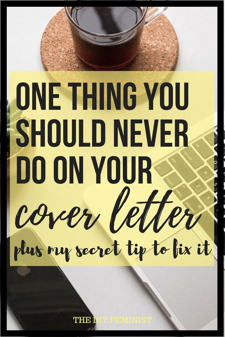 One common cover letter mistake to avoid with images