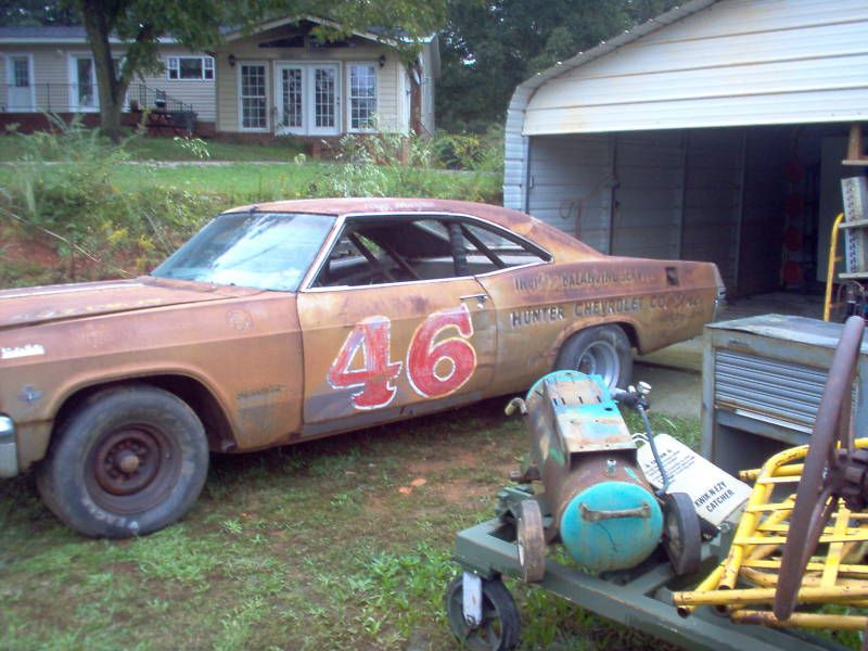 Featured Below Is A Great Website That We Ran Across About The Story Of Rusty Old 1965 Chevrolet Impala Nascar Which Immediately Looked Familiar To Me