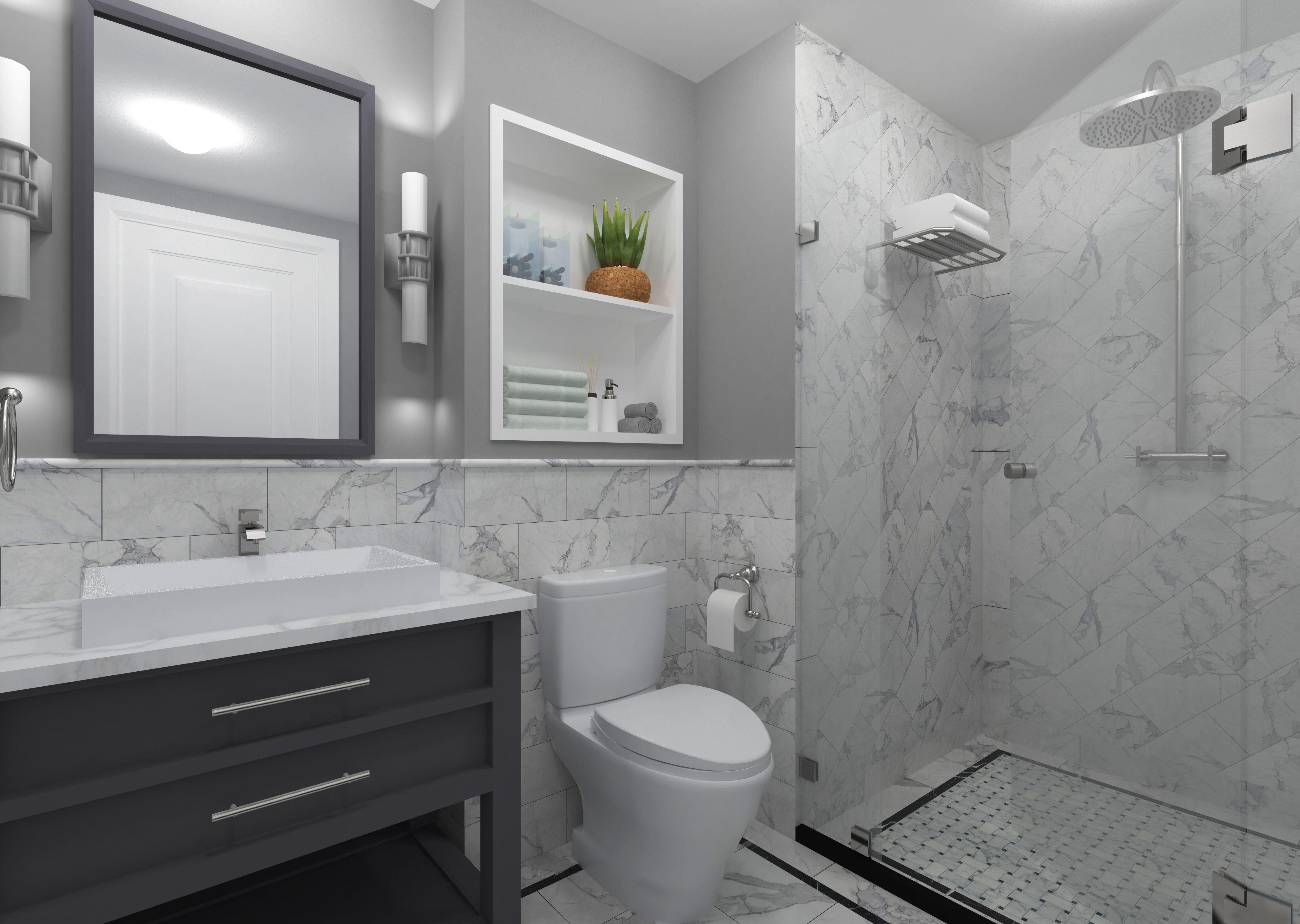 Bathroom Design Hacks For A Small Space In Nigeria Zenalen