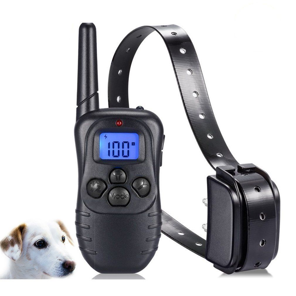 Vibrate Dog Collar Dog Training Collar Rechargeable And Rainproof