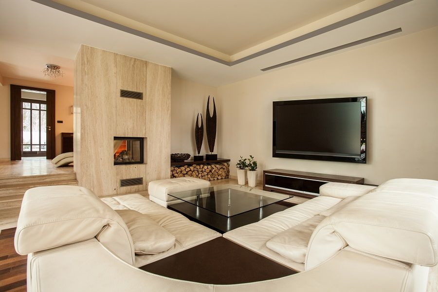 How To Keep The Tv And Fireplace At Peace In The Same Room