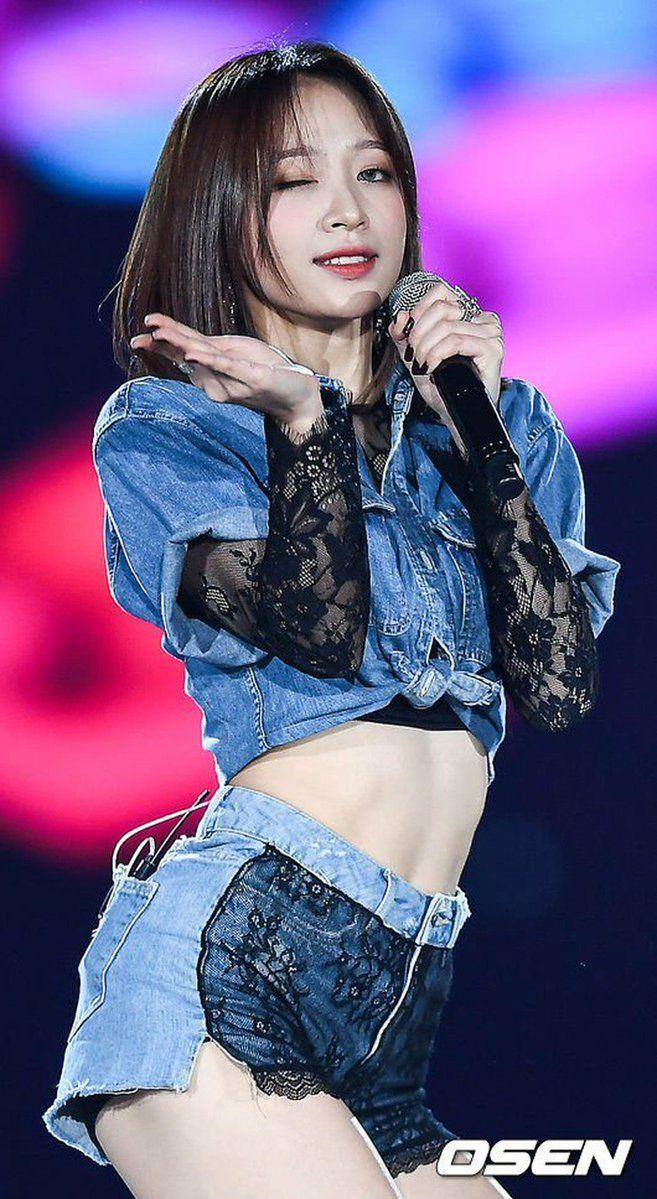 Kpop Scandal Sakacawea Twitter Hani Girls In Mini Skirts Ahn Hani