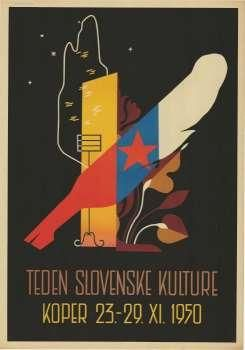 Teden slovenske kulture Koper, 23. - 29. XI. 1950 Source:slike Year:1950