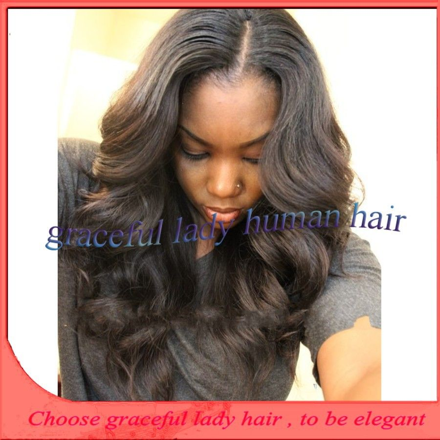 Peruvian Wavy Hairstyles I Love To See Kinky Hair Weave On Black Women Body Wave And