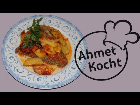 rezept k fte mit kartoffeln im backofen ahmetkocht folge 154 youtube t rkische k che. Black Bedroom Furniture Sets. Home Design Ideas