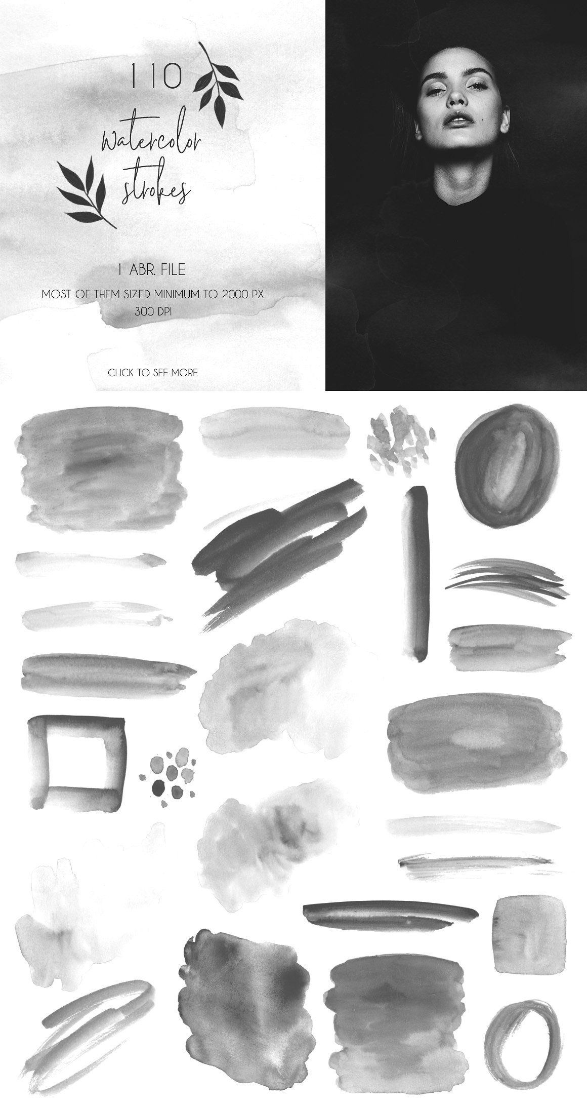 Brushes Collection For Photoshop Photoshop Watercolor Texture
