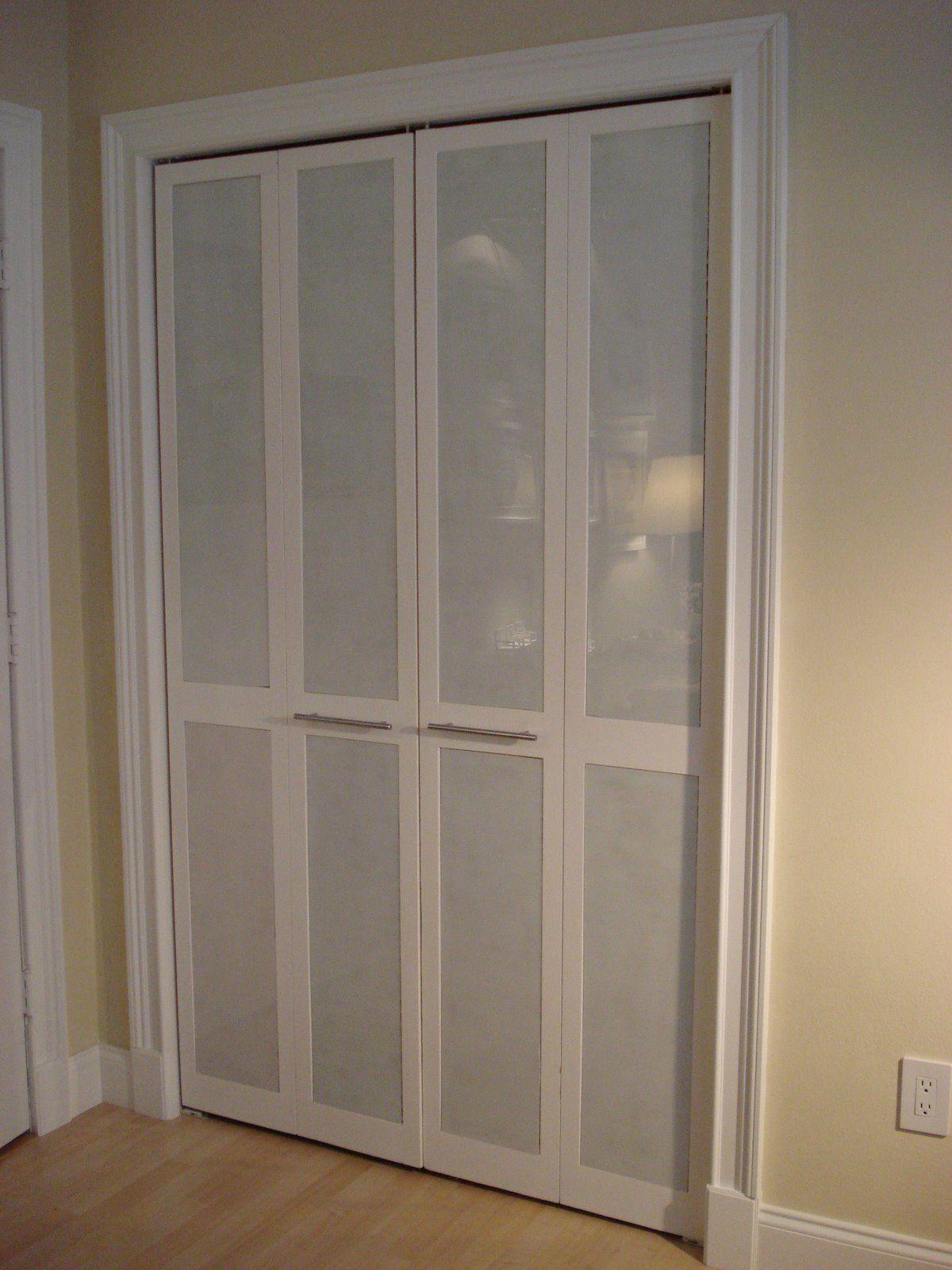 Amazing Unpretentious Style: Inexpensive Closet Doors Makeover.