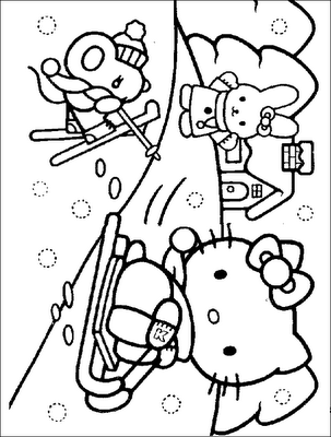 Hello Kitty Coloring Pages Hello Kitty Colouring Pages Hello Kitty Coloring Kitty Coloring