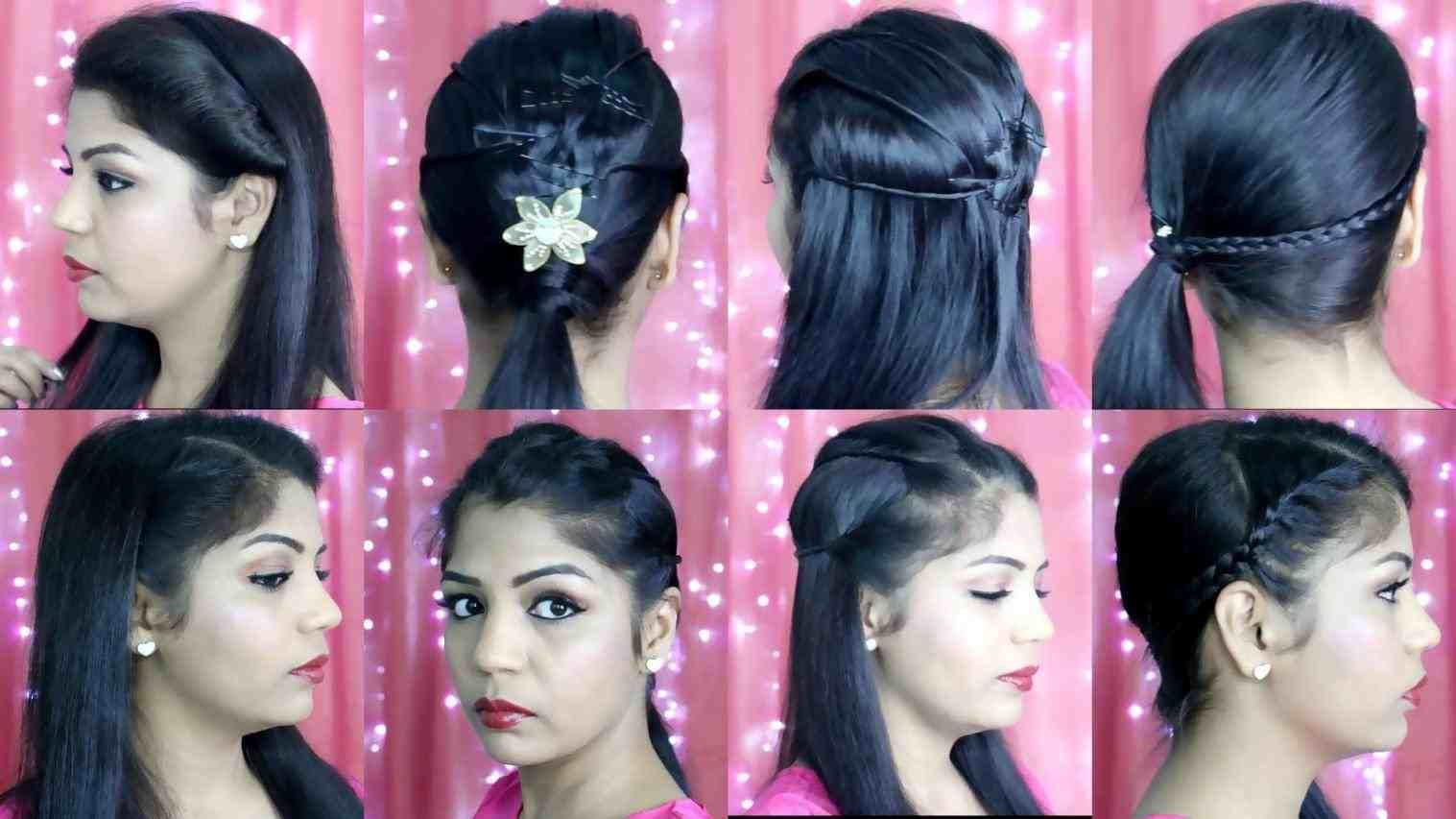 girls puff hairstyle for indian party   hair stylist and