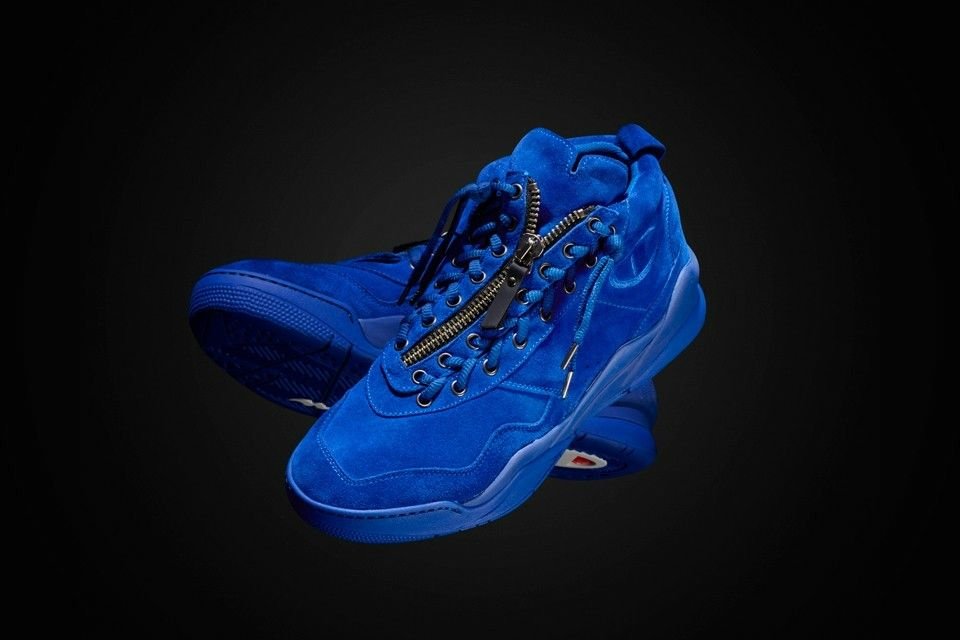 85607dac7f4 AWOL ATLANTA ELECTRIC BLUE € 360 CASBIA X CHAMPION Calf suede – Made in  Italy Regular standard fit