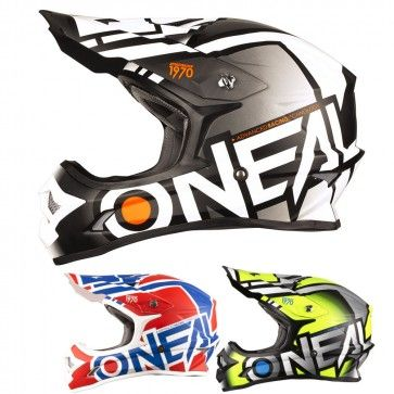 O Neal 3 Series Radium Mens Motocross Helmets Motocross Helmets Helmet Dirt Bike