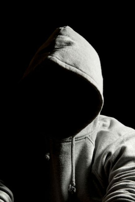 Hooded Man Boys Artwork Dark Photography Black Phone Wallpaper
