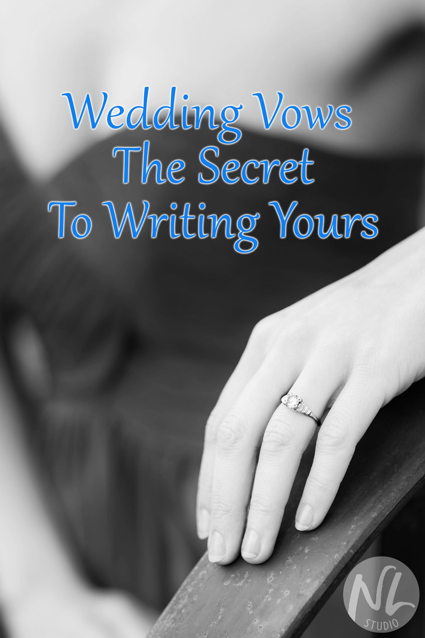 Writing wedding vows can be daunting, but this guide on