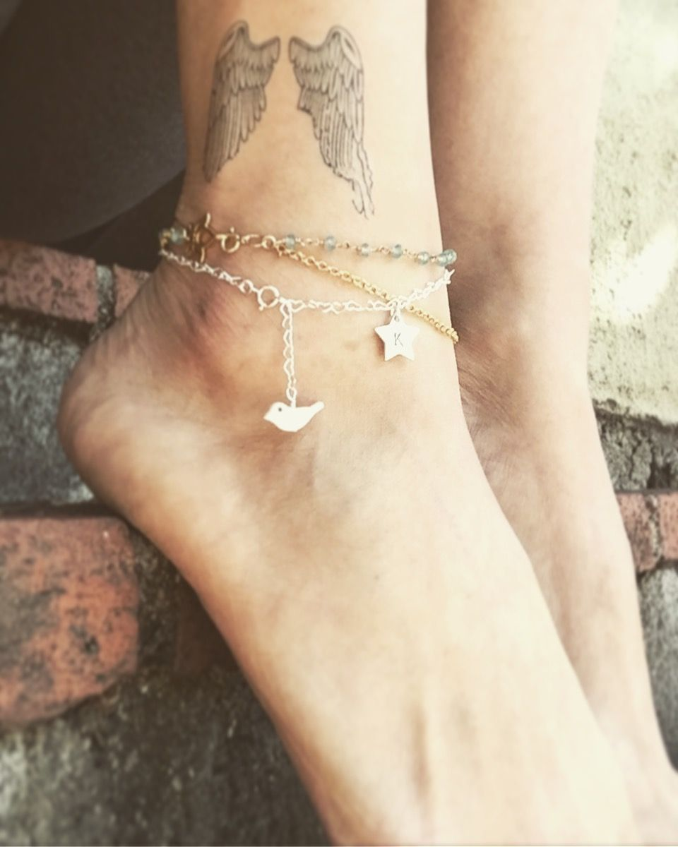 bracelet ankle jewellery jewelry pretty name sandy anklet ksvhs