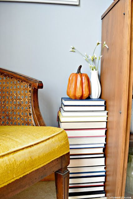 A Side Table For The Book Hoarder