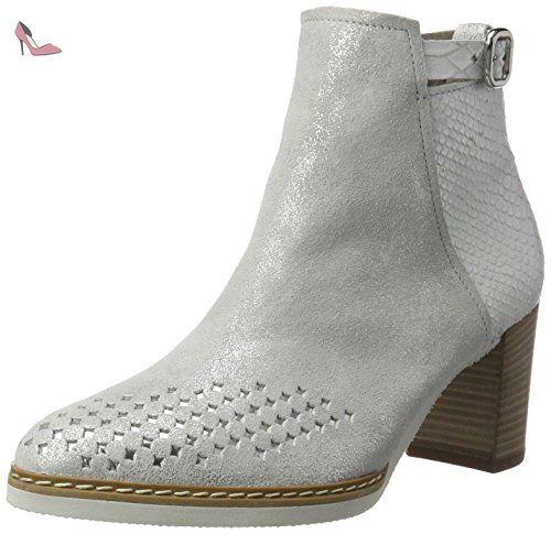 Gabor Shoes Comfort, Bottes Classiques Femme, Argent (Silber 13), 42 EU