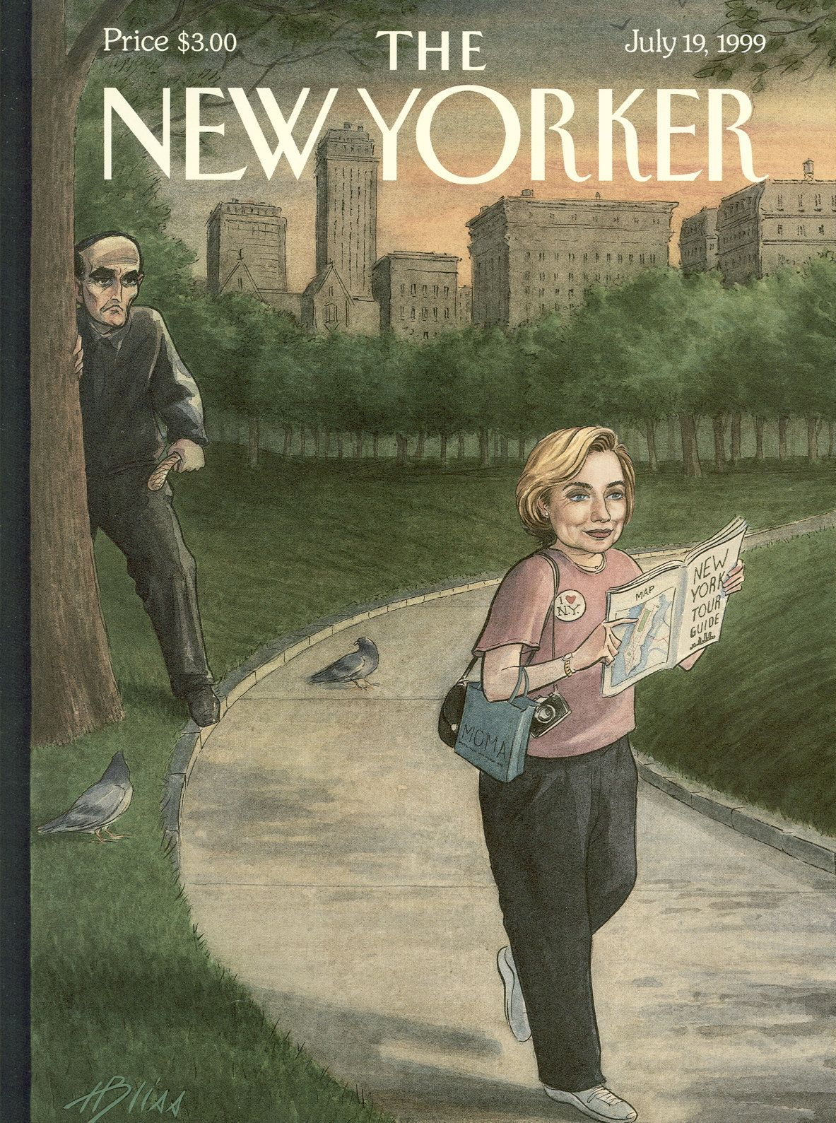 the new yorker magazine july 19 1999