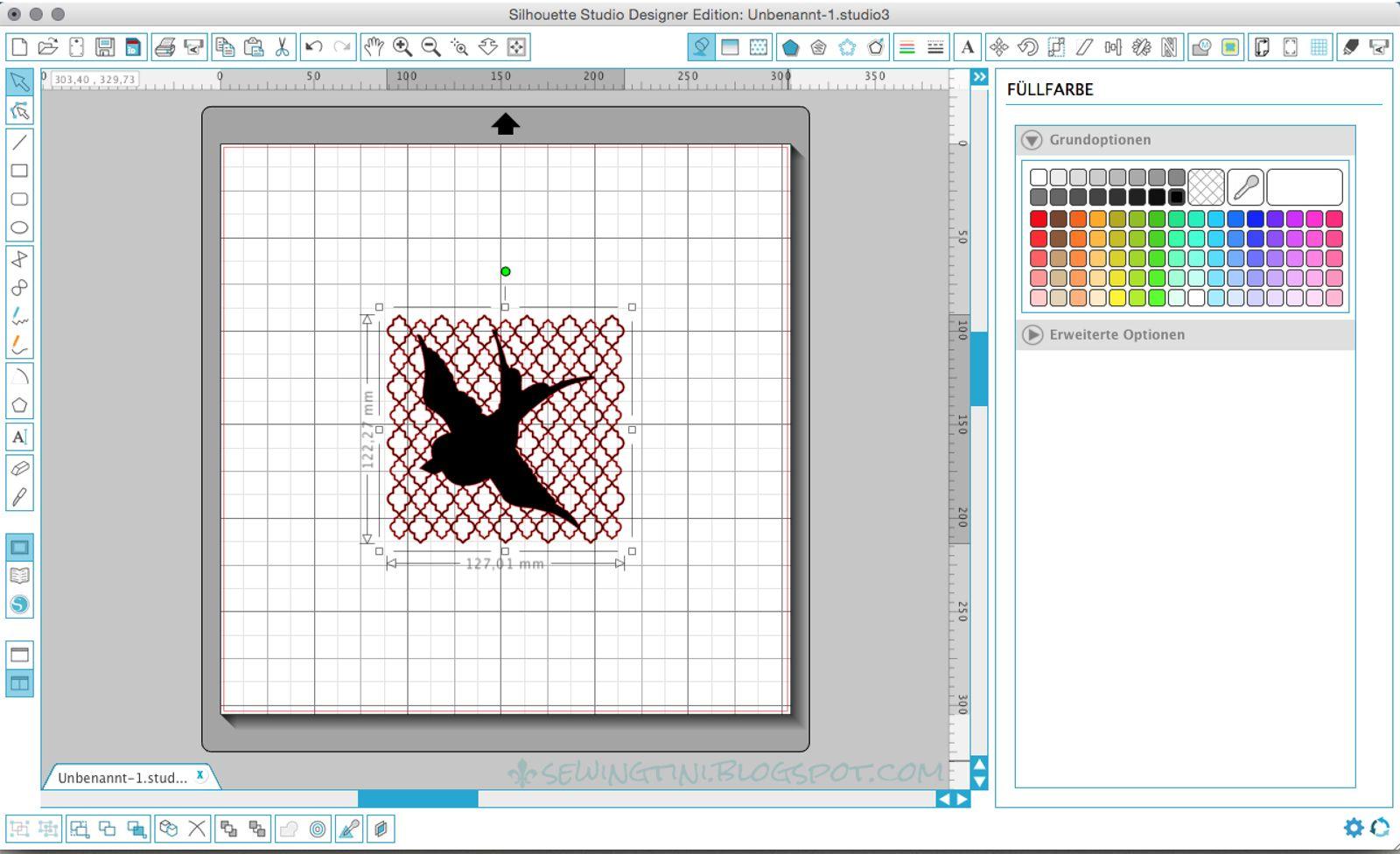 Silhouette Studio Plotter Tutorial zum bearbeiten von Formen und ...