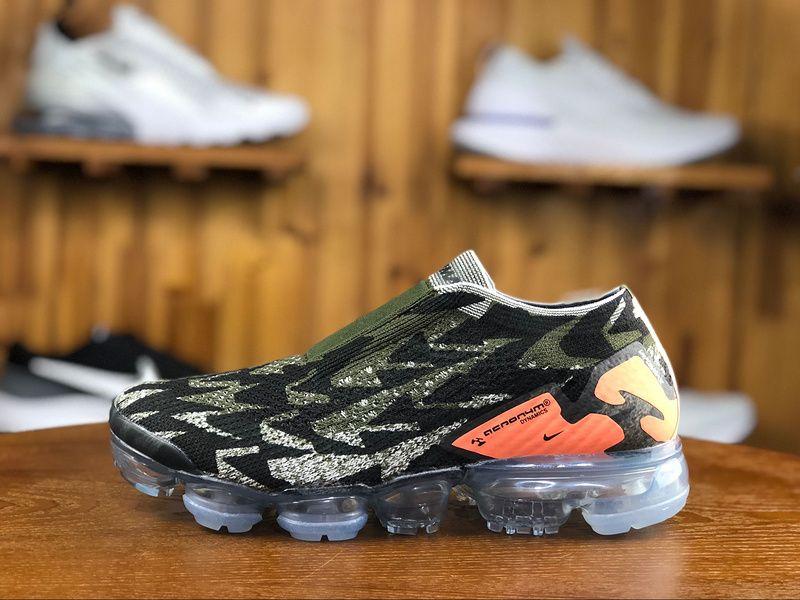 5ce2cb16372c 2018 Acronym x Nike Air Vapormax Flyknit 2.0 Mens Athletic Shoes AH8050-010