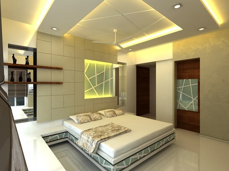 Bed Cot Home Interior Designs Bedroom False Ceiling Design