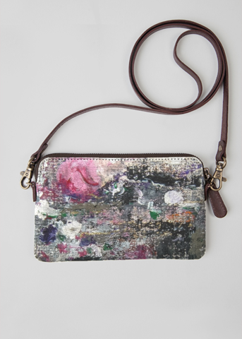 Leather Statement Clutch - Flora by VIDA VIDA Shopping Online Cheap Price t4tBxQF