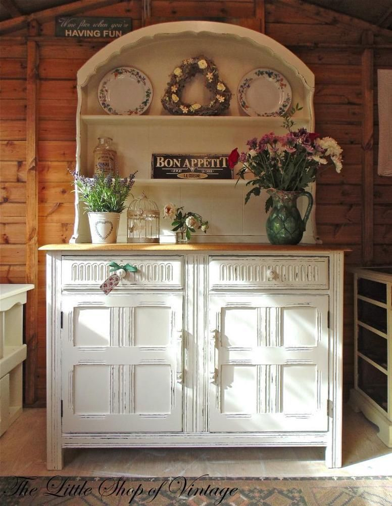 Beautiful Ercol Dresser Transformed with Farrow u0026