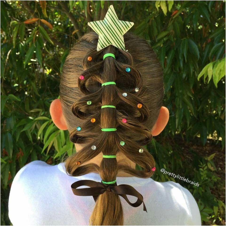 Christmas Tree Hair Styles Whoville Hair Kids Braided Hairstyles