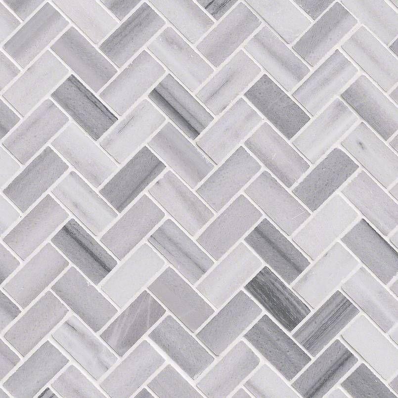 Smot Bergamo Hb10mm Bergamo Herringbone Polished Marmara White Marble Mosaic Naturalstone Marble Mosaic Tile Backsplash White Marble Countertops Flooring