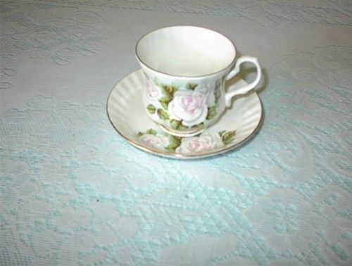 Hitkari Potteries Bone China Cup & Saucer Made in India