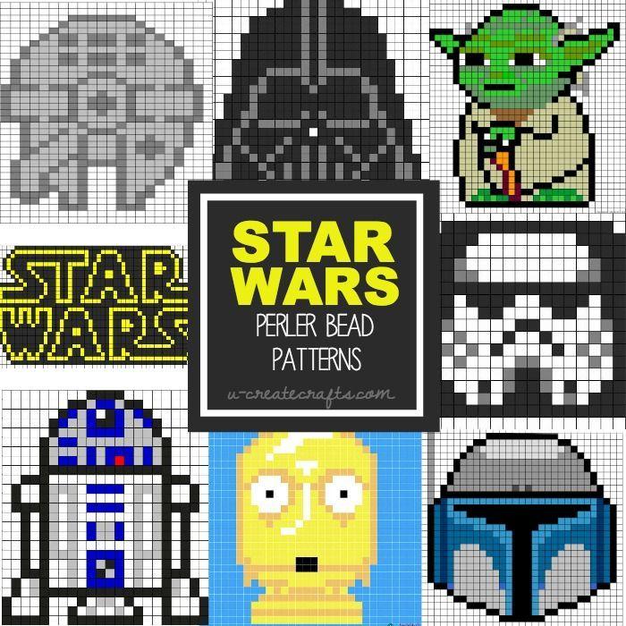 Star Wars Perler Bead Patterns | Create | Pinterest | Punto de cruz ...