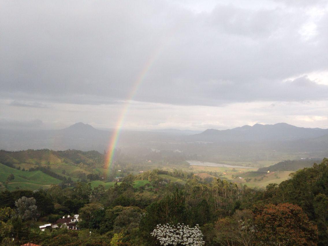 Arcoiris la ceja, Antioquia