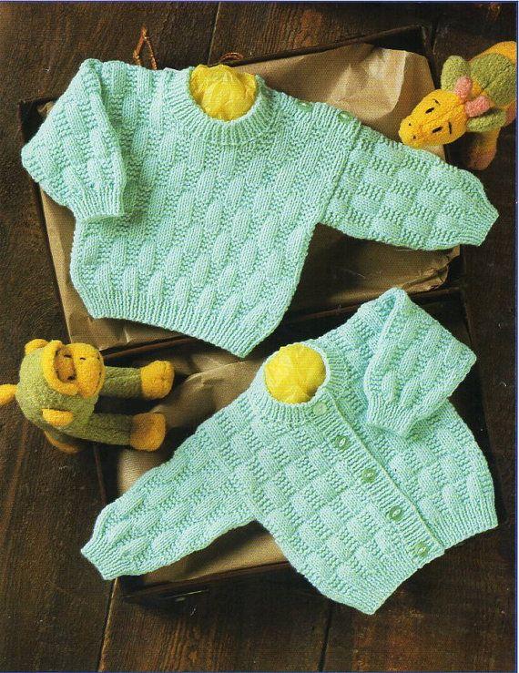 Baby Cardigan Sweater Knitting Pattern Pdf Button Shoulder Premature