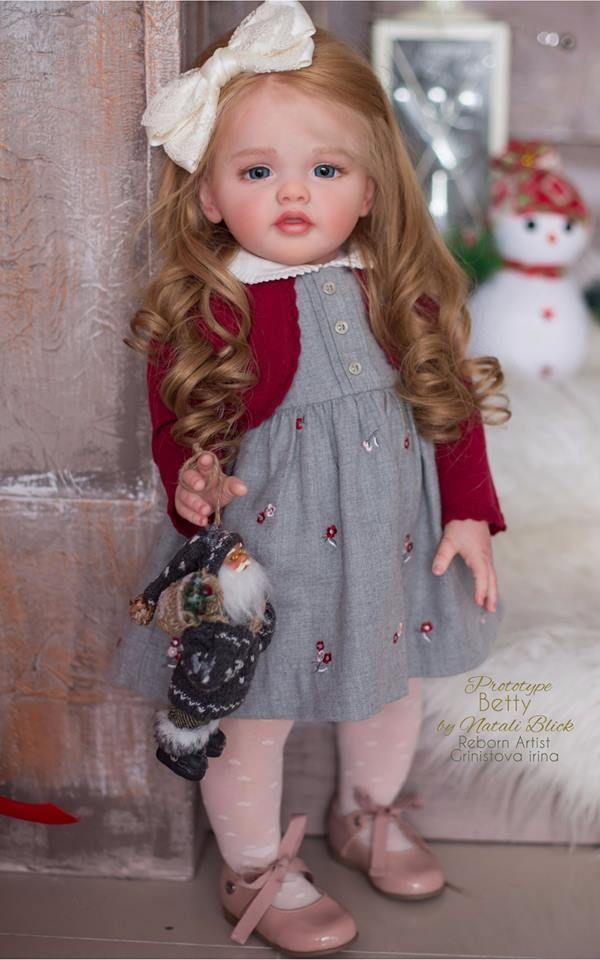 Betty Reborn Vinyl Doll Toddler Kit By Natali Blick