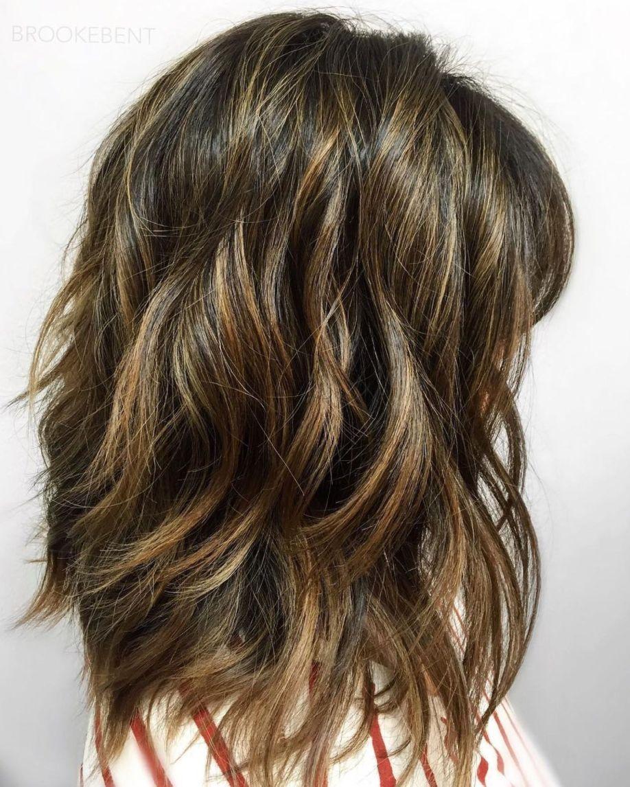 sensational medium length haircuts for thick hair hairstyles