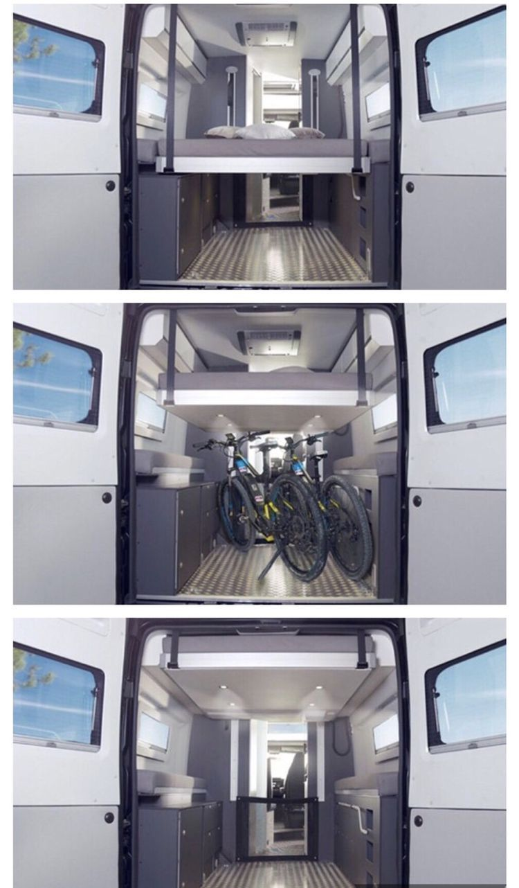 Photo of Adventure Camper Sleeps Two And Their Bikes #Adventure #Bikes #Camper #Sleeps #a…