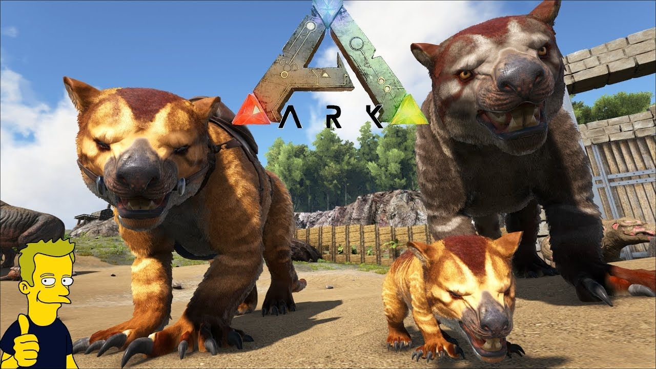 Thylacoleo 100 Imprinting Eventually Ark Survival Evolved