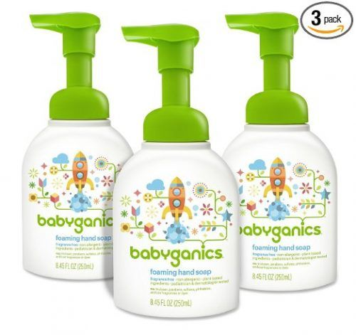 Babyganics Alcohol Free Foaming Hand Sanitizer Eco Refill 16oz