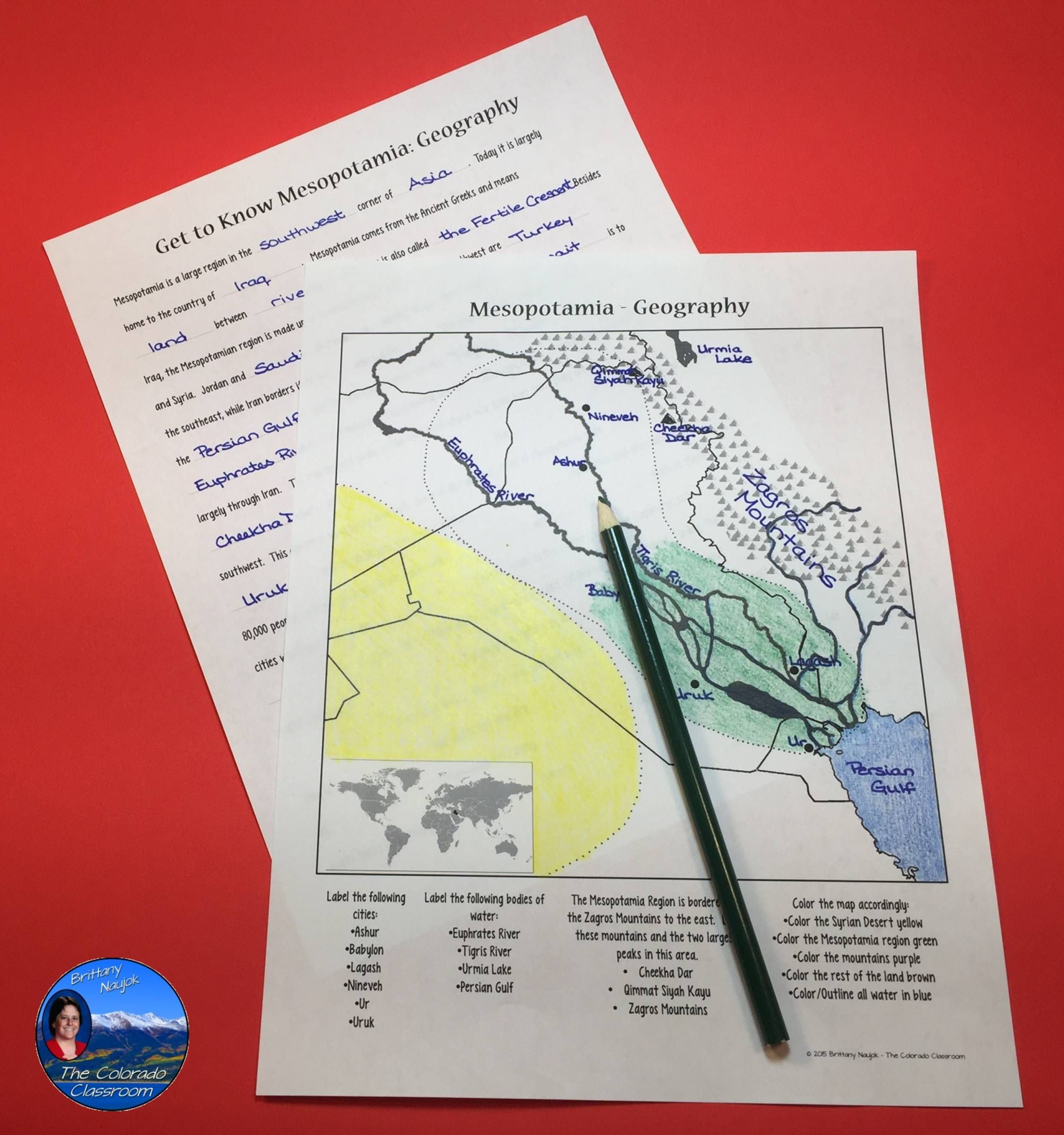 Get To Know Mesopotamia Geography