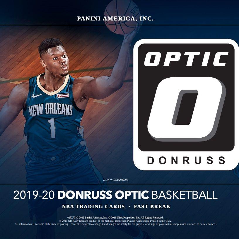 2019 20 Donruss Optic Basketball Checklist Nba Boxes Reviews