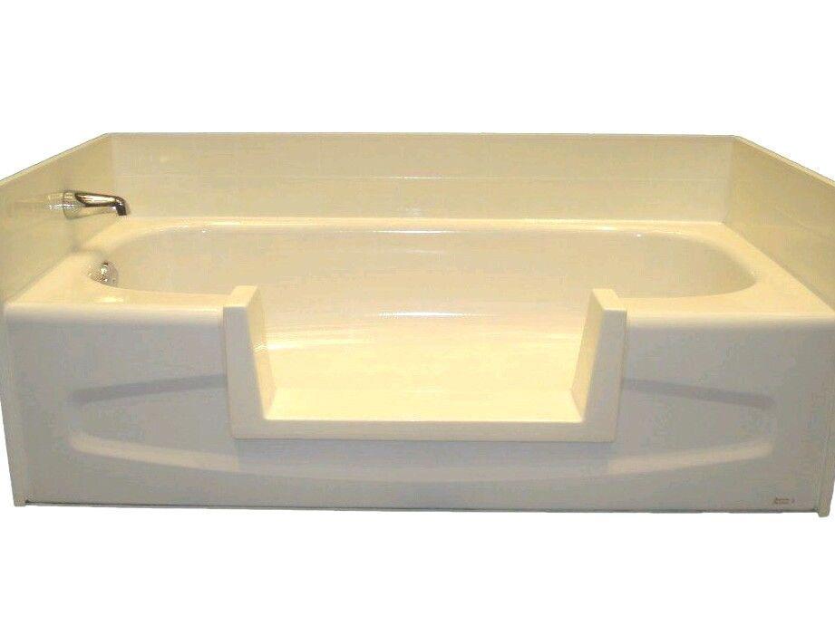 walk bath tub shower easy step through insert diy conversion senior ...