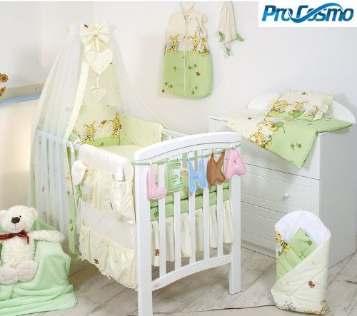 10 PCS BEDDING SET BABY COT /COT BED COT QUILT DUVET BUMPER CANOPY ... : size of baby cot quilt - Adamdwight.com