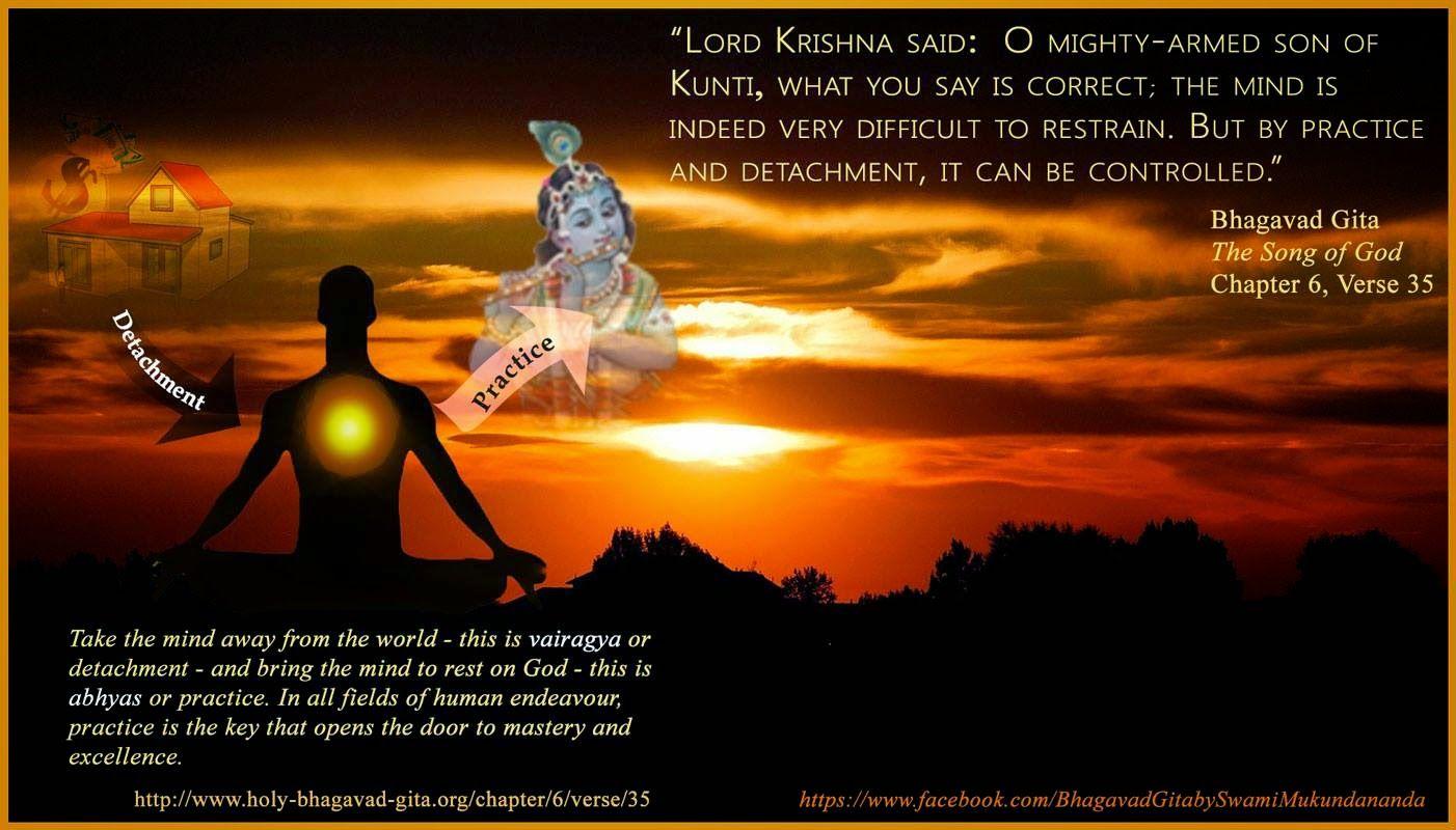 Bhagavad Gita Quotes Inspiration Image Result For Bhagavad Gita Detachment Quotes  Hindu