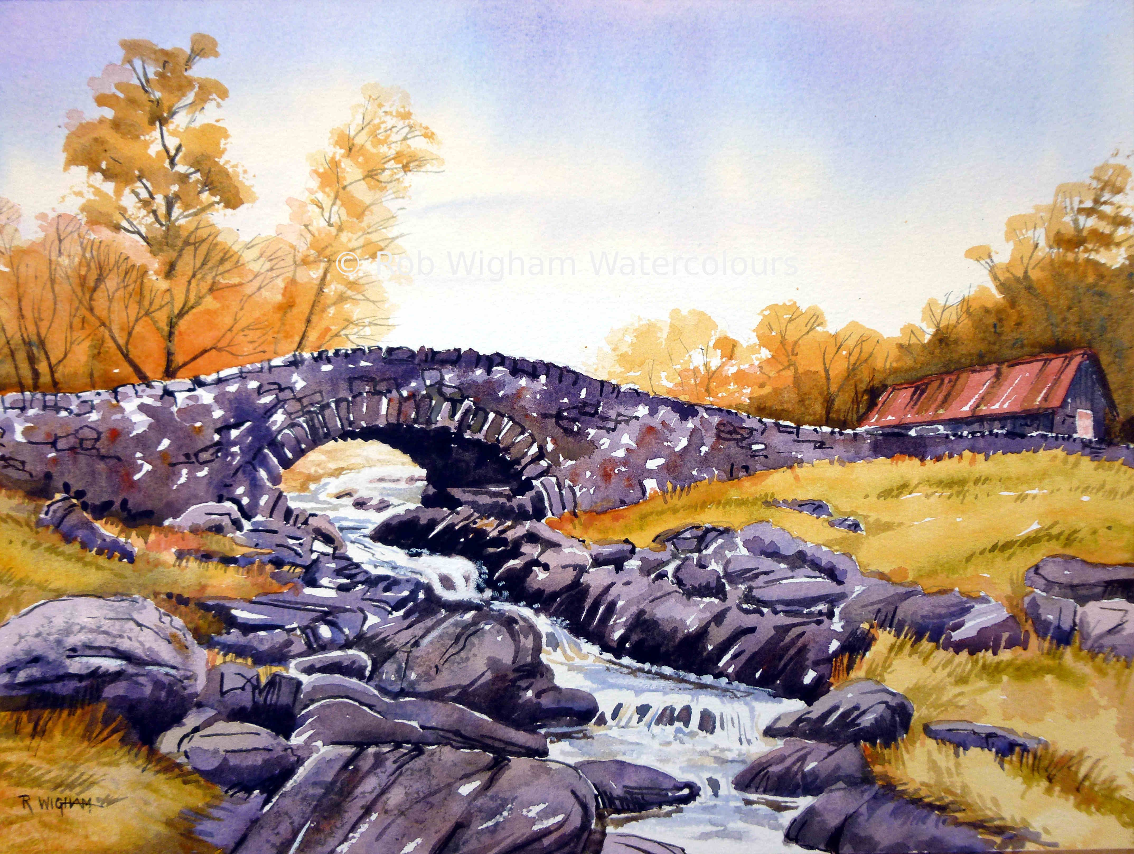 This Is Ashness Bridge In The English Lake District Although I