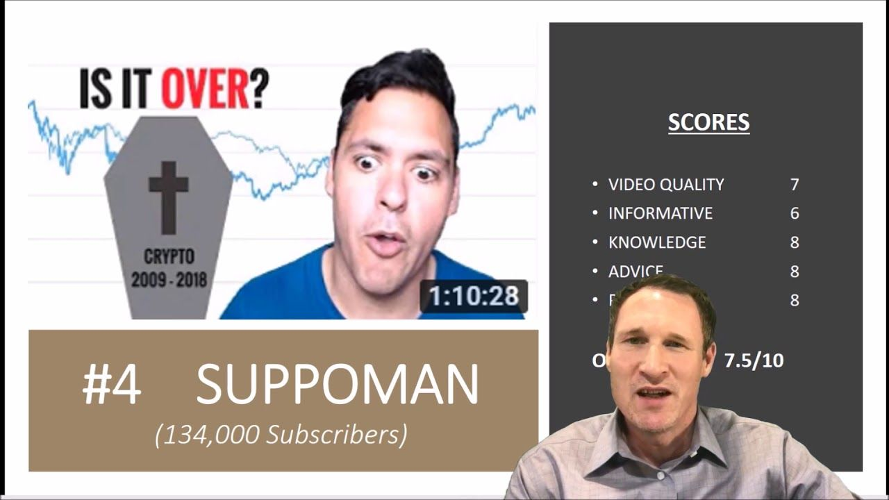 TOP 7 Crypto Influencers in 2018 on YouTube Informative