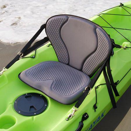 Gts pro kayak seat kayak fishing seat sit on top kayak for Kayak fishing seats